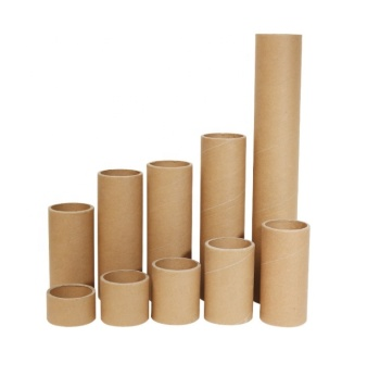 Eco friendly poster greeting card packaging tube paper mailing tube core