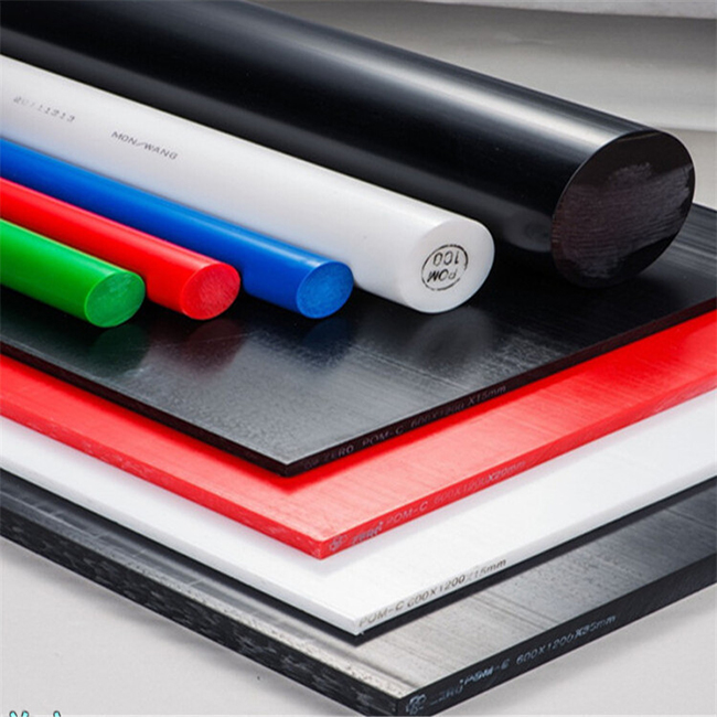 Factory Custom Nylon Bar PA Plastic Rods black nylon rod
