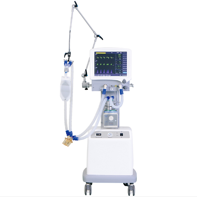 2019 Superstar newest electronic breathing respiratory machine with air compressor good use in ICU CCU - KingCare | KingCare.net