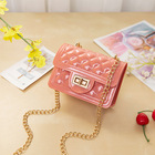 Women Waterproof Travel Bag Latest Design Fancy Girls Women Kids Mini Jelly Clear Purse Handbags Ladies Purse 2021