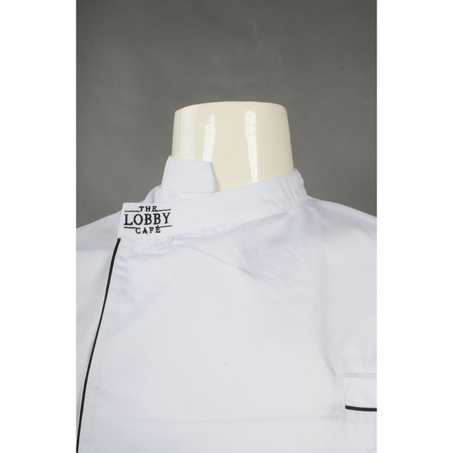 BSCI Sedex Factory price High quality Professional Restaurant Uniform Chinese Style Chef Uniform customized
