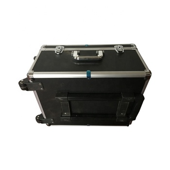 Ningbo Factory custom aluminum flight case with trolley and foam insert