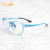 2020 new cool round kids eyewear blocking blue glasses light