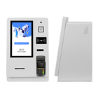Check Hotel Check In Kiosk Custom 15.6 Inch Automatic Smart Self Service Check In Hotel Payment Kiosk With Card Dispenser