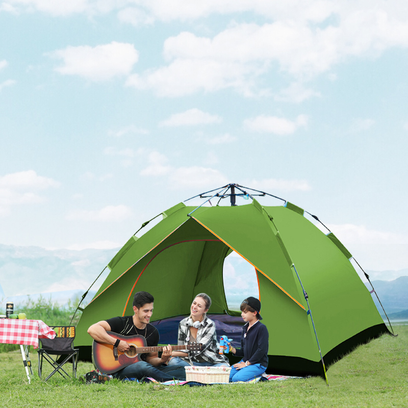 light automatic pop up shade outing camping tent for garden park