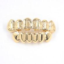 Ледяной зуб золотые зубы grillz хип-хоп зуб модные ювелирные изделия для тела косплей подарок на вечеринку в честь Хэллоуина рок-ролл Рэппер та...(Китай)