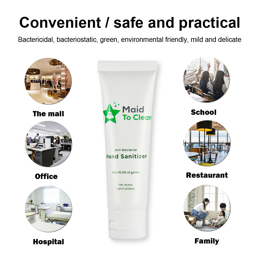 OEM label wholesale waterless cleaning gel natural liquid hand wash soap 75