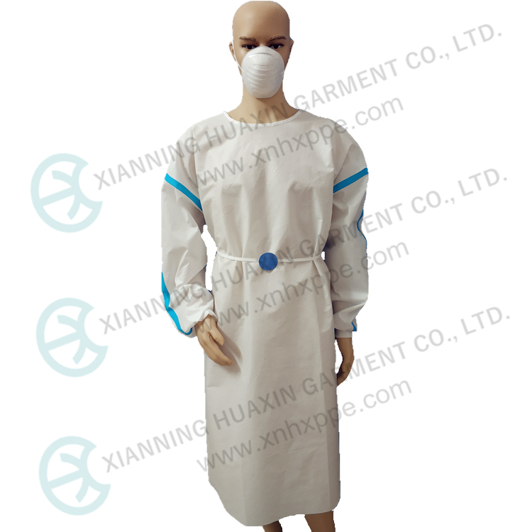 TG Taped Seam Microporous Disposable Gown - KingCare | KingCare.net