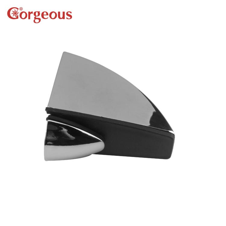 Gorgeous locking glass shelf supports zinc alloy glass shelf support glass holder clamp