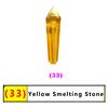 33 желтый плавки камень