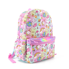 "School Girls Girls School Backpack Good Quality Wonder Unicorn Pattern Kids Bag Quilted School Backpack 16"" For School Girls"