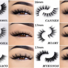 Wholesale Eyelash Eyelashes Wholesale 6d Faux Mink Eyelash Custom Label Cruelty Free Vegan Lashes 6d Silk Eyelashes