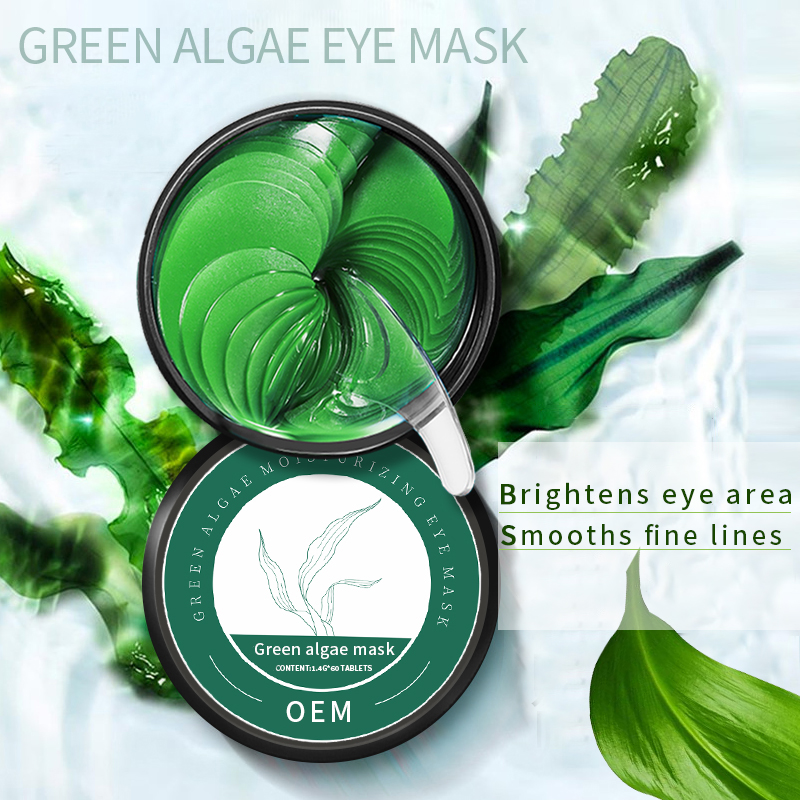 Skin Care Anti Wrinkles Anti aging Smooth Fine Lines Eye Patch Green Algae Radiant Eye mask