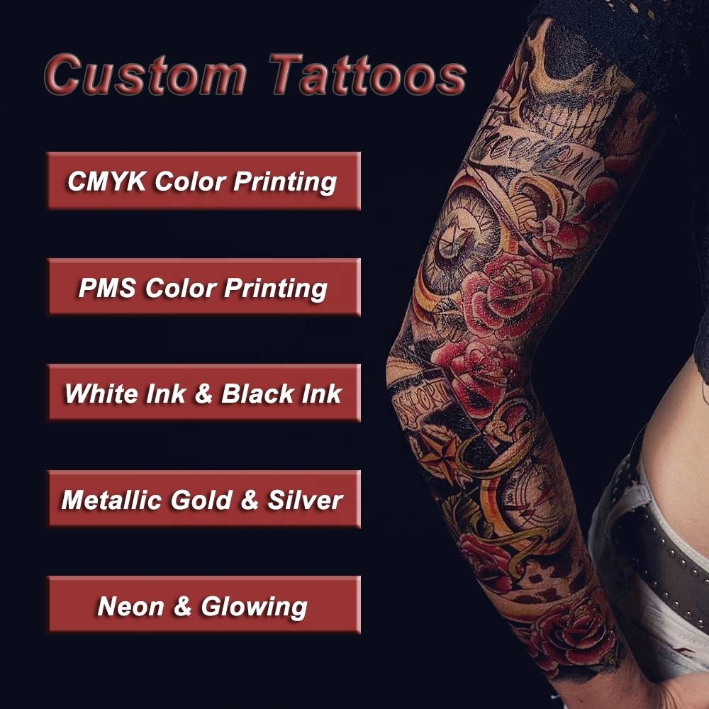 Make Your Own Logo Artwork Design Custom Temporary Sticker Tattoos
