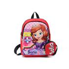 Kids Bag 600D Polyester Kids Backpack Bag Cartoon Primary School Bag With Coin Purse