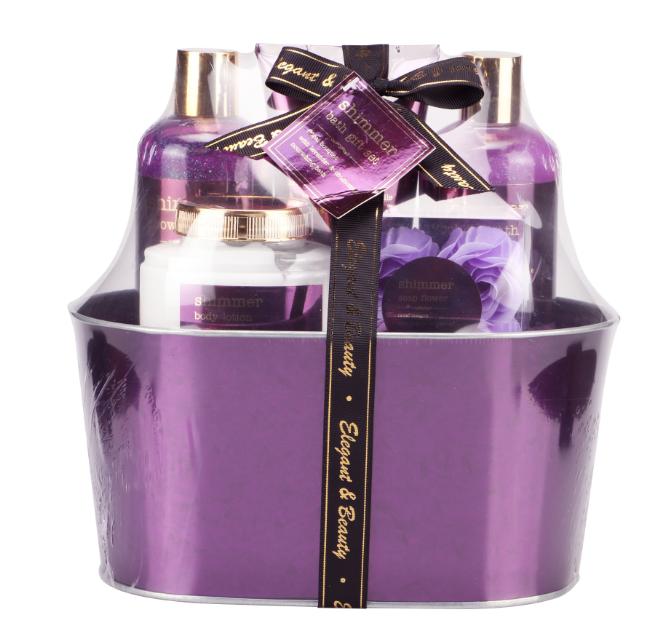 Оптовая продажа, ароматная Ванна и уход за кожей тела, подарочный набор для туалета Oem