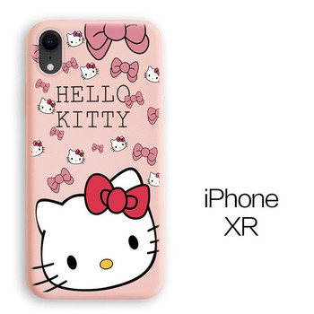 hellokitty hello kitty KT Case For iphone 12 pro 12promax 11 XS X 7 8 soft silicone Cover Phone Case