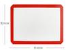 40x30cm-corner corte blanco rojo amarillo negro blanco/amarillo