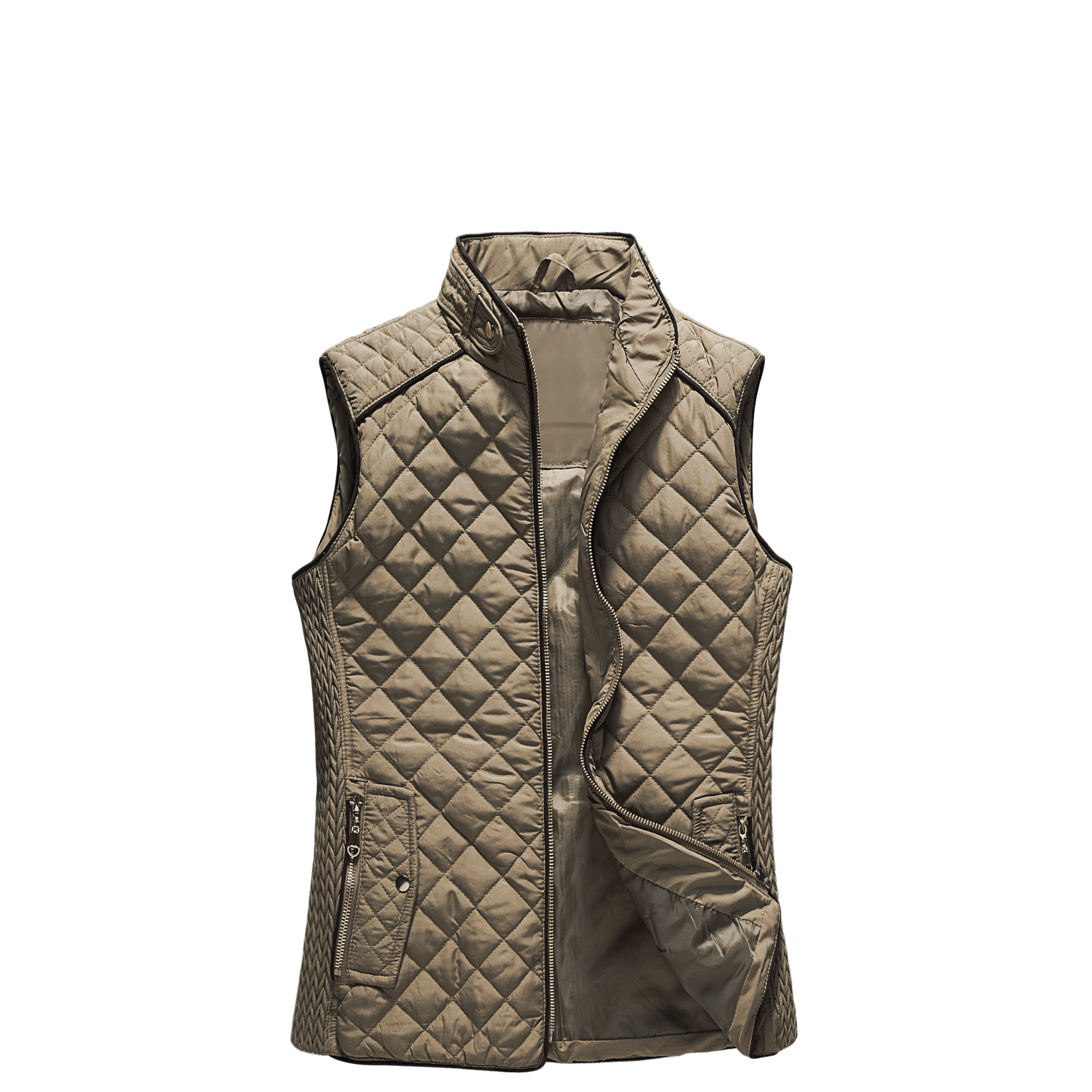 High Quality Wholesale Factory Coat Woman Clothing Fashion Winter Woman Vest Outwear