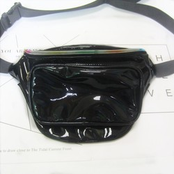 Fashion Custom Waterproof PU Leather Shoulder Waist Bag Fanny Pack