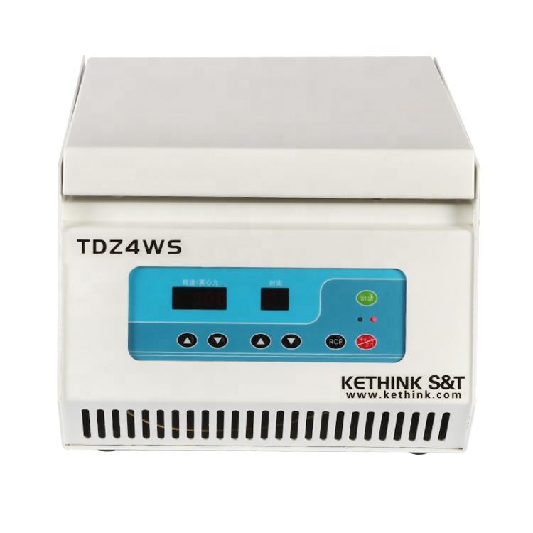 prp plasma therapy centrifuge TDZ4WS tabletop low speed blood containing antibodies separation centrifuge machine