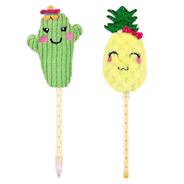 Licheng BP3672 Gift Pen Set, Custom Kids High Quality Pineapple Cactus Shape Pen Souvenir