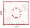29x26cm-right ángulo rojo/negro