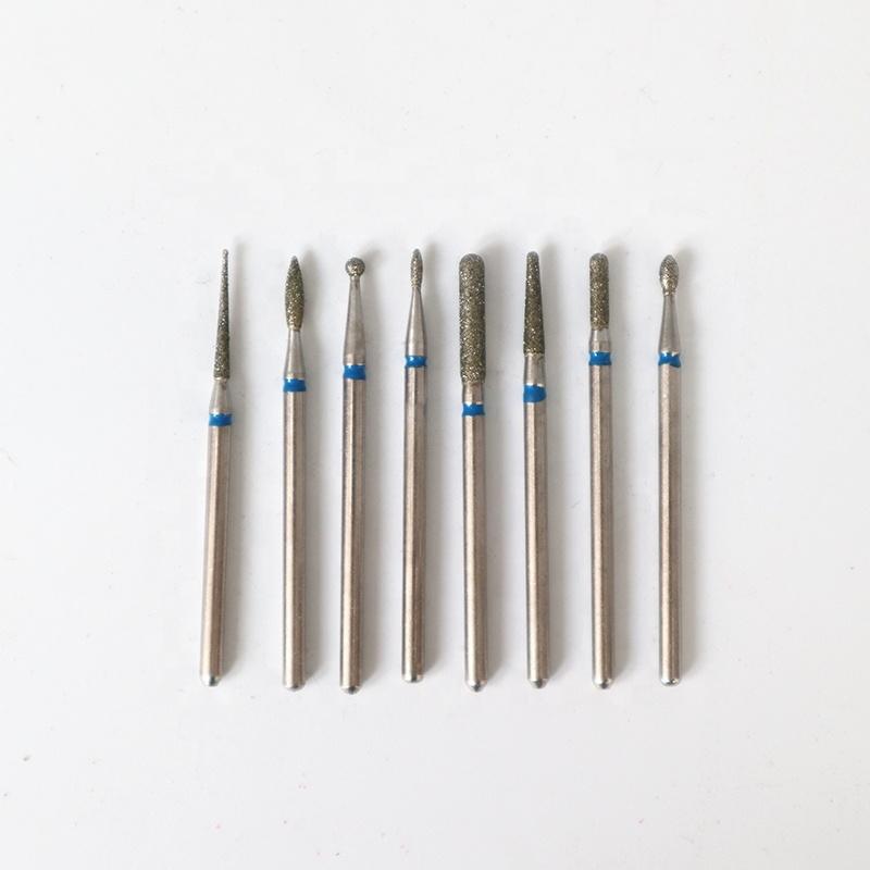 Nail Drill Machine Tools Kit Manicure Pedicure Diamond Nail Drill Bits