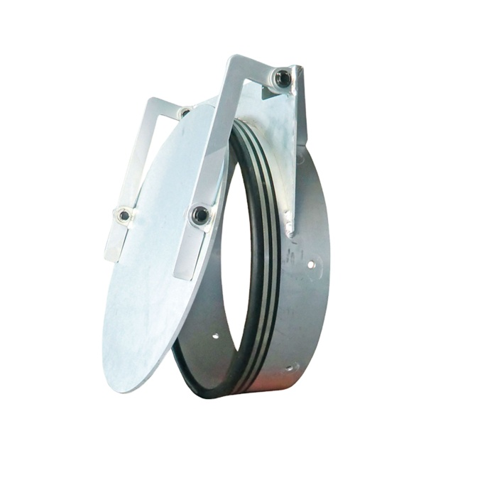 high quality HDPE flap gate valve with rubber wedge valves