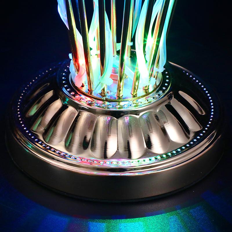 Rechargeable LED Shot Glass Rack Customize Bottle Glorifier Display Holder for Bar