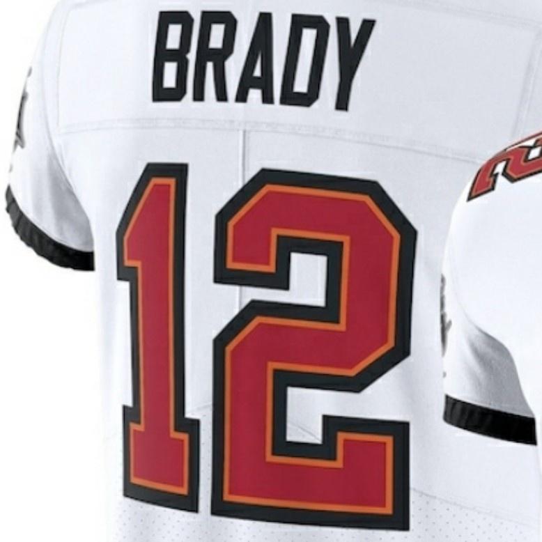 Tom Brady White 2020 New Best Quality Stitched American Football ...