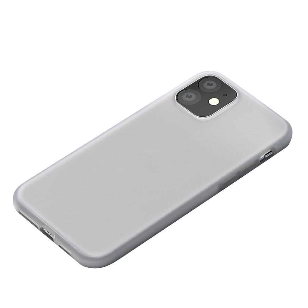 Чехол для Iphone 11 ультра тонкий 0,3 мм прозрачная матовая Защитная крышка полное покрытие жесткий чехол для телефона чехол(Китай)