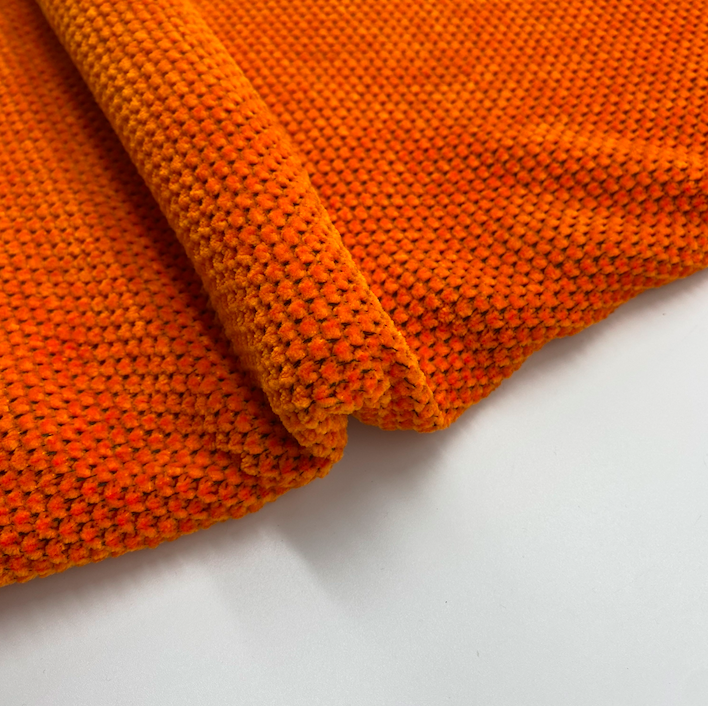 Hot sale High quality 100% polyester chenille knitted fabric For clothes