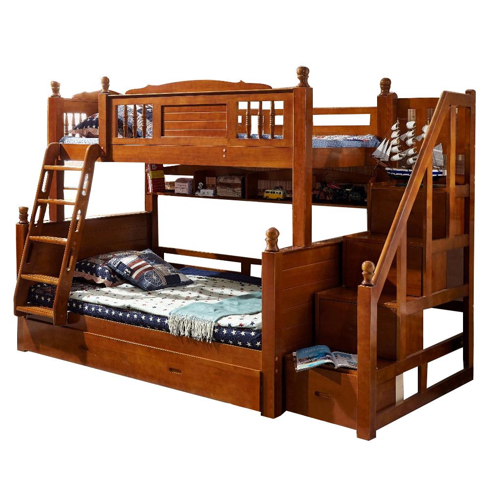 6223 --foshan furniture market wooden kids Bunk Bed With Stairs For Children  Furniture Sets, View wooden bunk bed, Luxury Homey Product Details from  Guangdong Luxury Homey Furniture And Interior Decoration Co., Ltd.