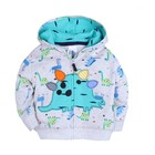 Crazy Sale Guangzhou baby clothes 100% cotton animals baby hoodie jacket