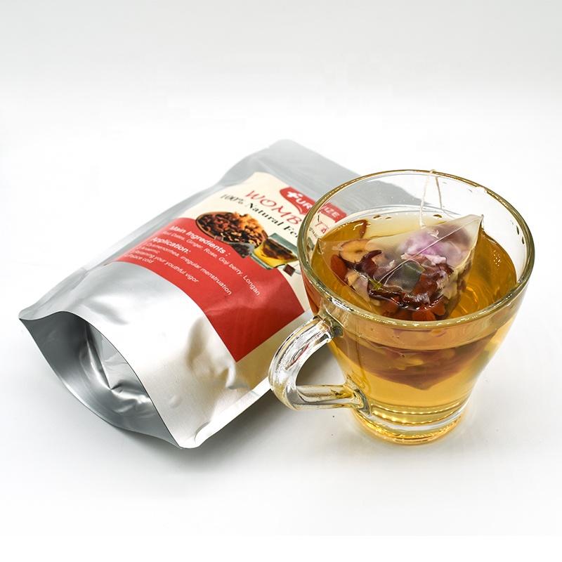 Натуральные продукты питания и травы, подогреватель матки, Питательный чай для матки