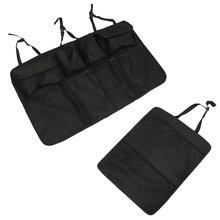 2 шт., органайзер для заднего сиденья, автомобильный подвесной органайзер для багажника, сумка для хранения груза, автомобильные принадлежн...(Китай)