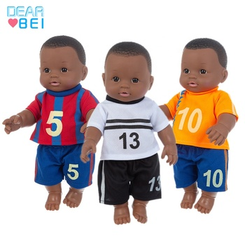 Factory wholesale dolls 12 inch fashion baby reborn doll america girl africa black love baby doll for kid rebirth silicone toy