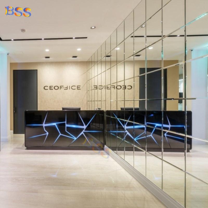 Современные офисные маленький светодиодный свет салона красоты стол идеи