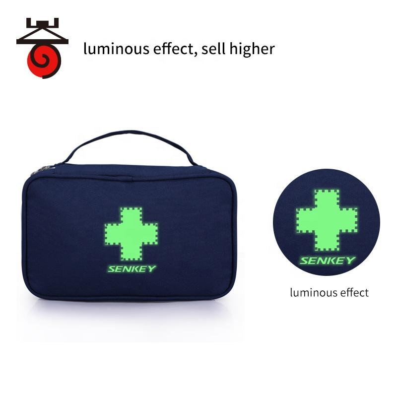 Уличная дорожная домашняя красная синяя сумка для медсестер, медицинские мешки для чрезвычайных ситуаций с изолированными пакетами