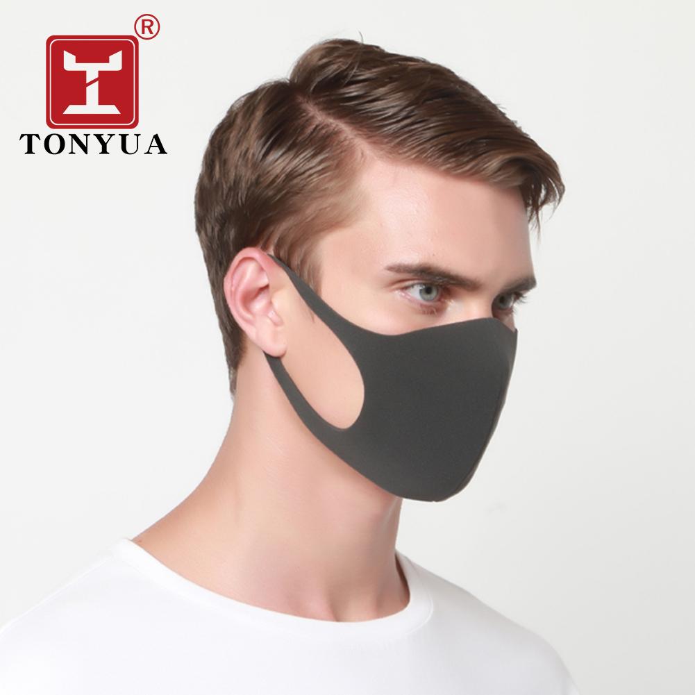 Printed Face Mask Fashion Washable Ear loop Face Mask Mandala Custom Black Sponge Mask - KingCare | KingCare.net