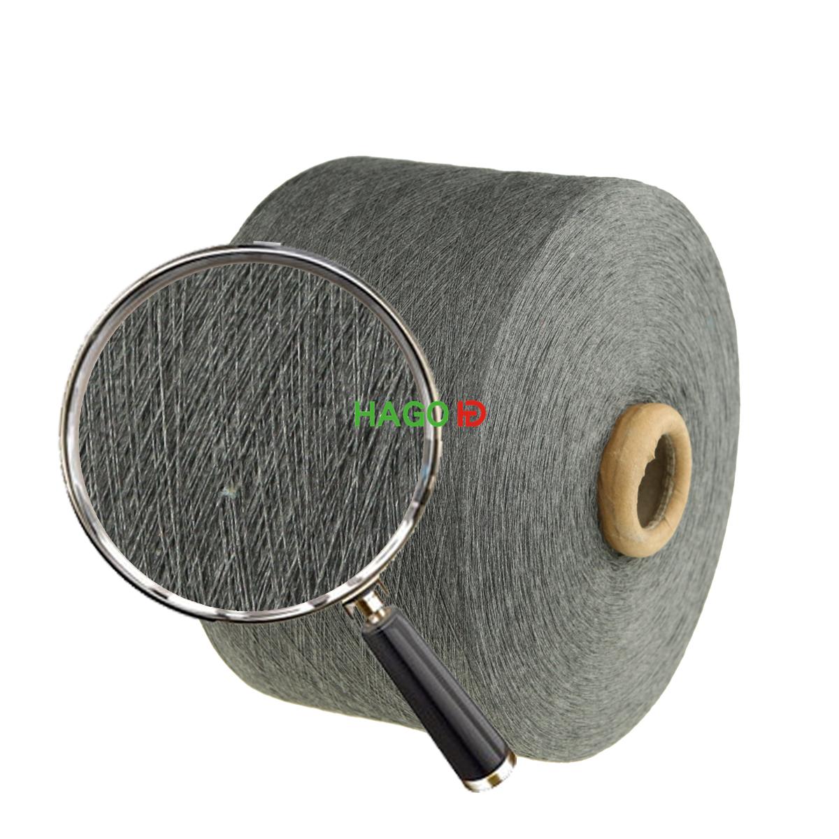 Regenerated cotton yarn for knitting gloves socks, fabric
