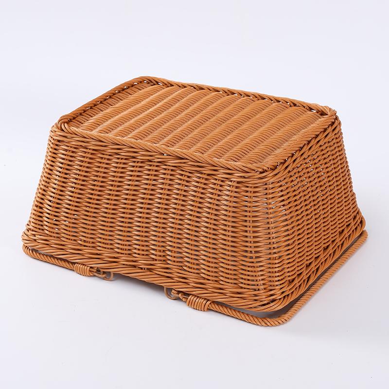 Прямоугольные корзины из ротанга для хранения фруктов, новое поступление