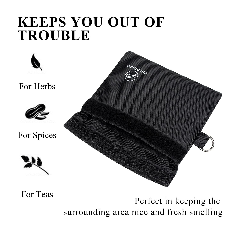 Сумка для хранения табака с защитой от запаха, нейлоновый карбоновый чехол для табака с подкладкой для травы сорняков, контейнер для хранения запахов