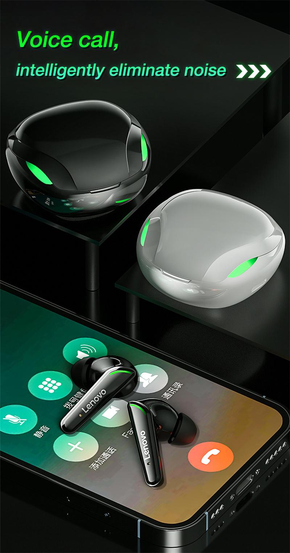 Lenovo XT92 Gaming Snake Bluetooth Earphone Wireless 11