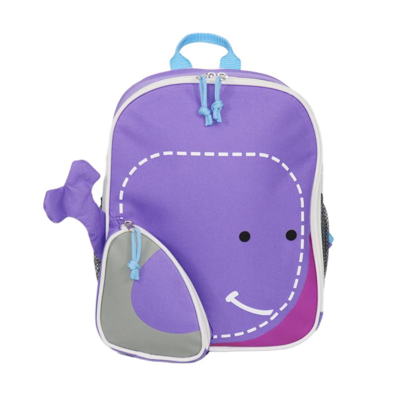 Fashionable Design 3D Cartoon Kids Zoo Animal Shoulders Backpack Bag