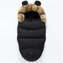 Зимняя детская коляска, спальный мешок Yoya Plus Yoyo Vovo, зимние теплые спальные мешки, мантия для новорожденных, конверты для колясок(China)