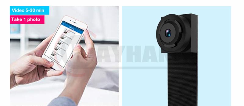 Newest 4K HD DIY Portable WiFi IP Mini Camera P2P Wireless Micro webcam Camcorder Video Recorder LookCam
