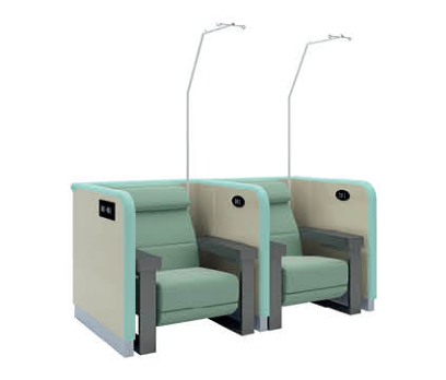 Good Quality Hospital Furniture Manual Transfusion Medical Infusion Chair With Armrest
