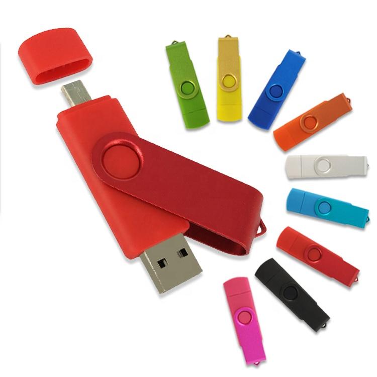 Promotional Metal keychain usb2.0 3.0 3.1 flash memory drive OTG Pendrive multiple ports 16GB 32GB 64GB Usb Flash Drive usb c - USBSKY   USBSKY.NET